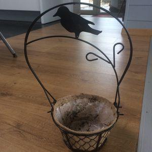 Cache-pot oiseau