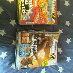 Lot de magazines science & vie junior