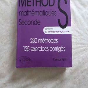 Méthode mathématiques seconde