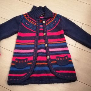 Gilet orchestra fille 5 ans