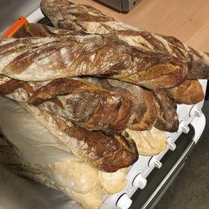Donne pain dur pour animaux