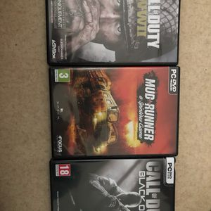 3 jeux pc à donner
