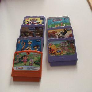 Cassettes de jeux vtech vsmile