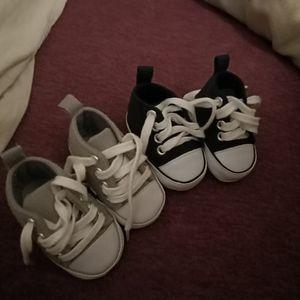 Chaussure bébé en tissu