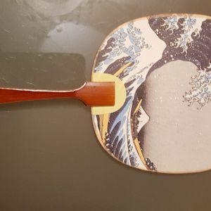 Mini éventail Hokusai