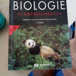 Livre biologie