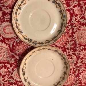 Soucoupes à thé anciennes