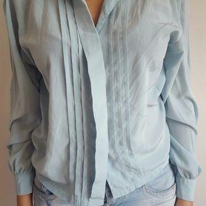 Chemise bleue en très bon état