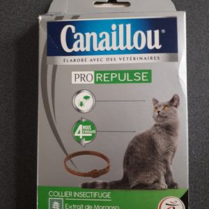 Collier antipuce pour chat