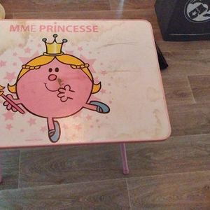 Table mme Princesse