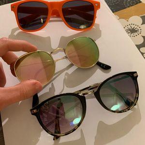 Lot de 3 paires de lunettes de soleil