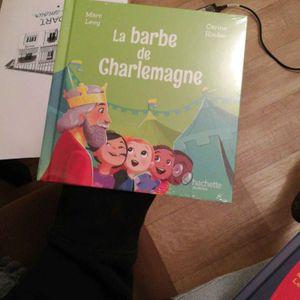 """Livre enfant """"la barbe de Charlemagne"""""""