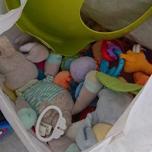 Sac de jouets bébé 1er âge