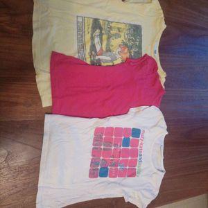 3 tee-shirts 3-4 ans