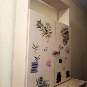 Meuble de salle bain a surprendre .