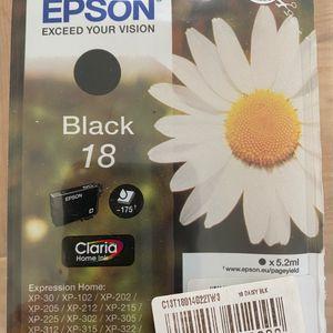 Cartouches encre EPSON Black