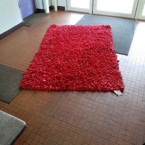 Tapis rouge tissu