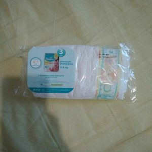 2 Couches Pampers  taille 3