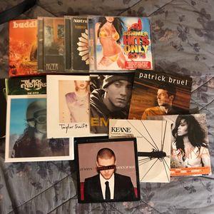 Lot de cd