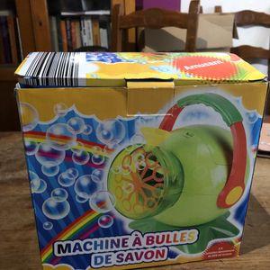 Machine à bulle