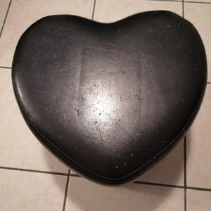 Tabouret en forme de coeur