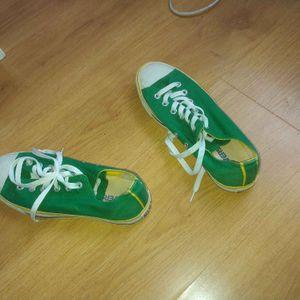 Converse verte taille 38