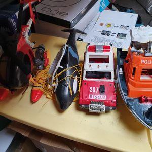 Lot de jouet Rescue