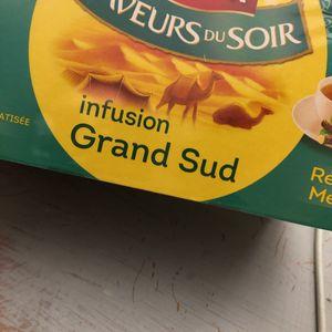 Boîte thé l'option infusion menthe réglisse 25 sac