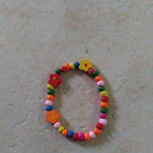 Bracelet enfant perles en bois