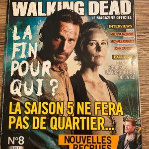Magazine officiel the walking dead