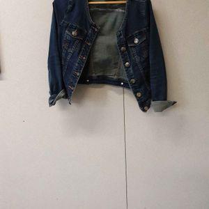 Veste en jean T 36