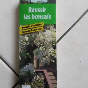 Livre réussir les bonsaïs