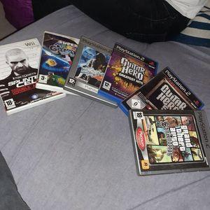 Lot de jeux video