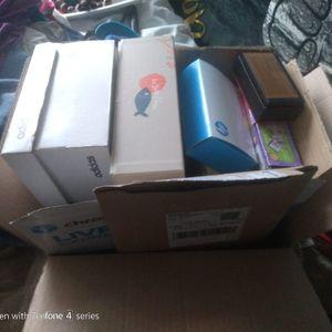 Cartons et boites diverses tailles