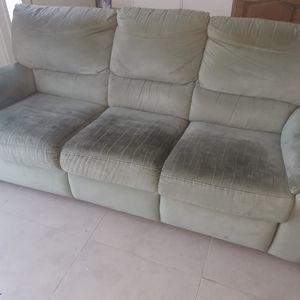 Ensemble canapé + fauteuil