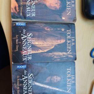 Trilogie Seigneur des Anneaux en livres de poche