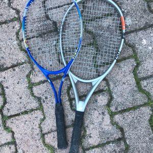 2 raquettes de tennis 🎾