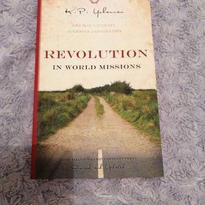 Livre revolutions des missions dans le monde en anglais