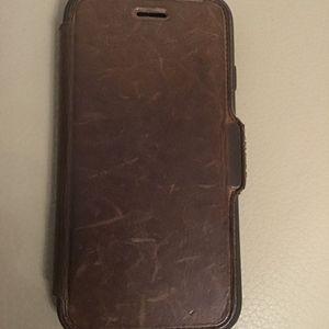 Coque iPhone 7 en cuir