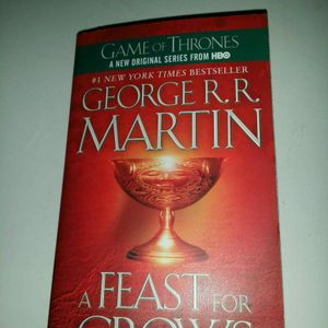 Livre Game of Thrones a feast for crows