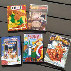 Lot de 5 DVD enfant