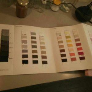 Lot echantillon fils - textile