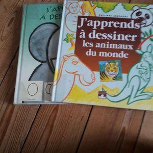 2 livres de dessins enfants