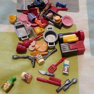 Lot ustensile Playmobil
