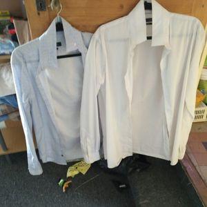 Donne deux chemises taille s