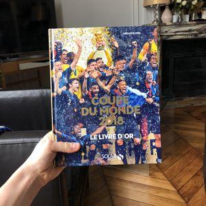 Coupe du mo de 2018 le livre d'or