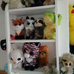 Lot de peluches don