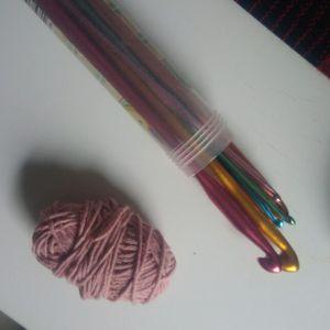 Lot crochet avc coton