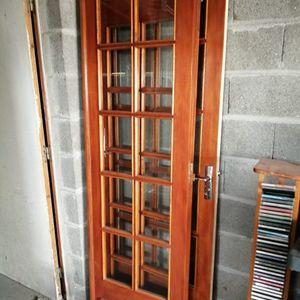 3 Porte intérieur vitrée