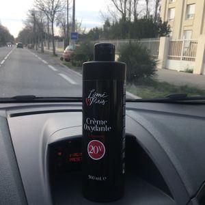 Crème oxydante pour cheveux